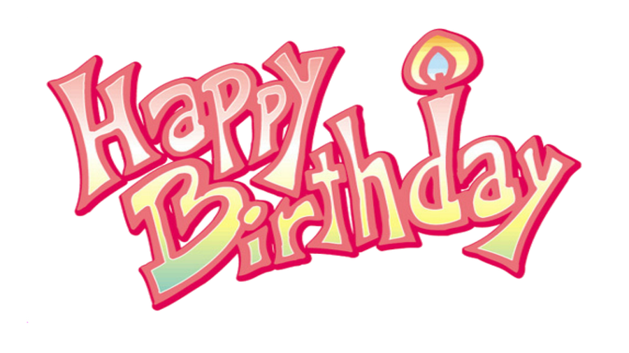 Happy Birthday Png   New Calendar Template Site