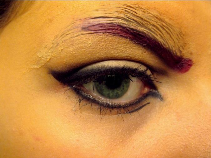 Axel Makeup Test Run by VIIIFireLordAxel