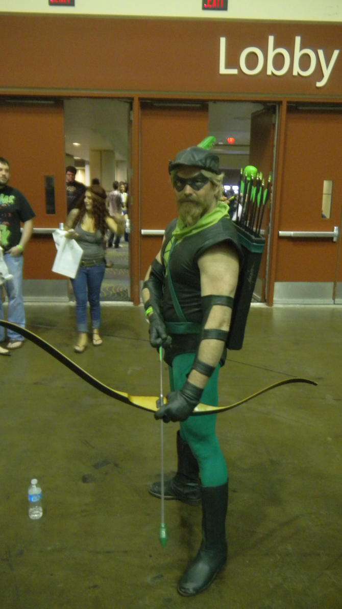 Megacon 2013 Green Arrow by Oblivion-Evil