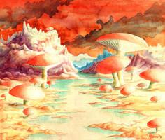 Mushroom Time by Valnor