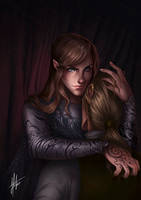 Feyre - A Fox in the Chicken Coop by JoPainter