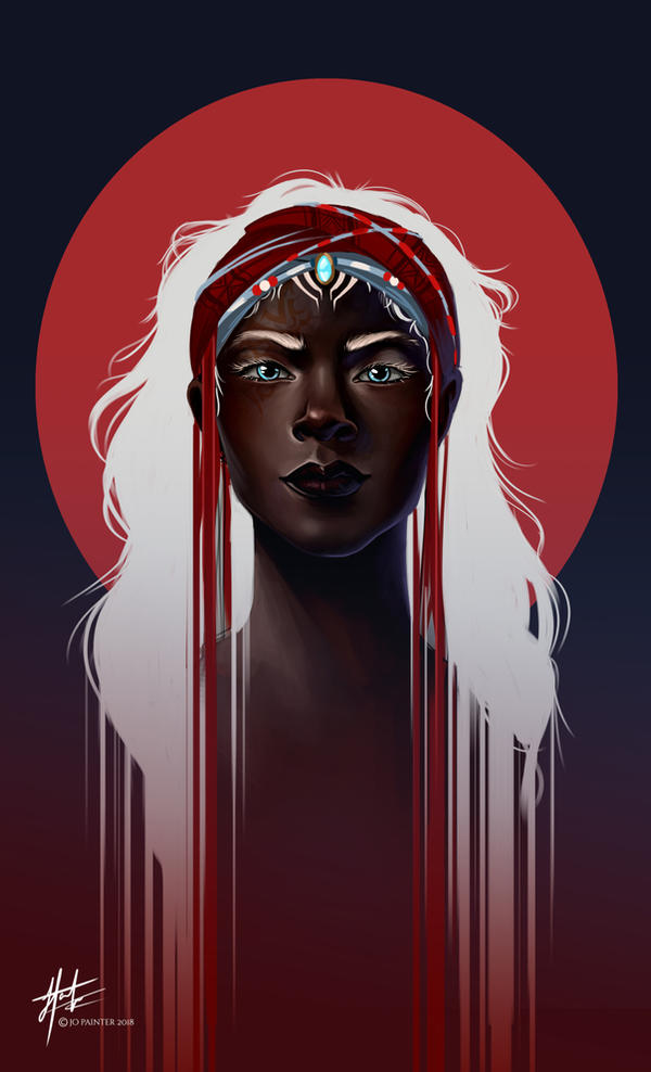 Zelie - Children of Blood and Bone by JoPainter