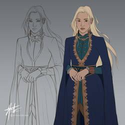 Alina Starkov - Concept by JoPainter