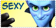 SEXY - Megamind STAMP by AsuHan
