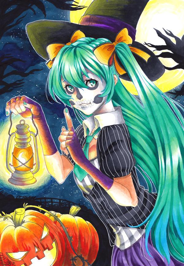 Happy Halloween ver.1 by AsuHan