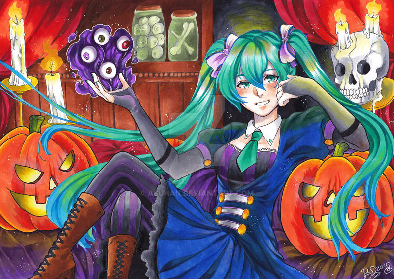 Happy Halloween ver.2 by AsuHan