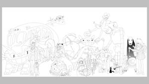 Ghibli - In Progress by Hyung86