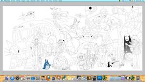 Ghibli - Color progress