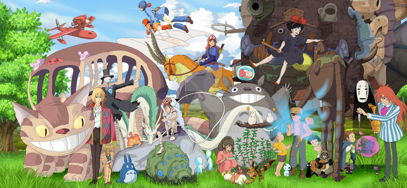 Ghibli - Finish Work by Hyung86