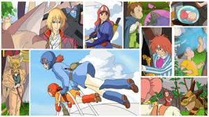 Ghibli Close Ups by Hyung86