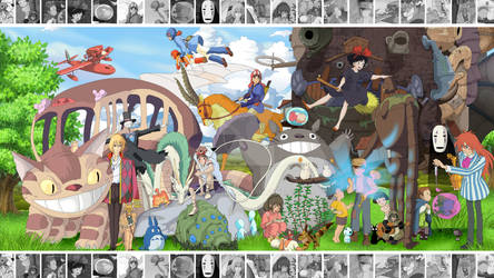 The Art of Ghibli - Wallpaper Edition