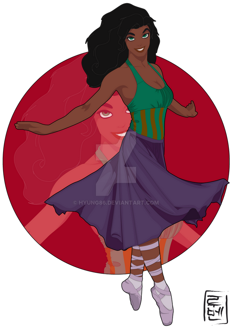 Disney University - Esmeralda by Hyung86 on DeviantArt