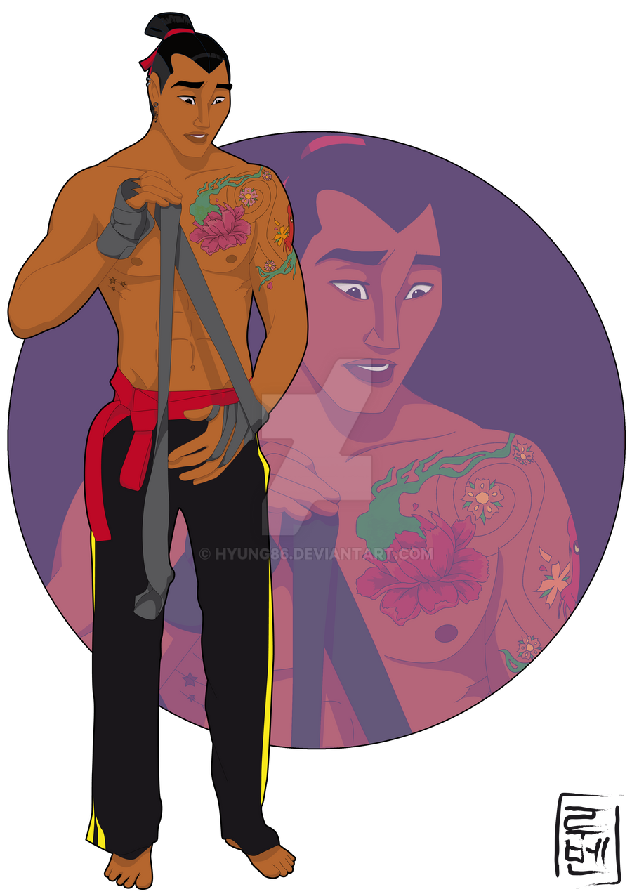 Calendar Art Peter Rolfe : Disney university shang by hyung on deviantart