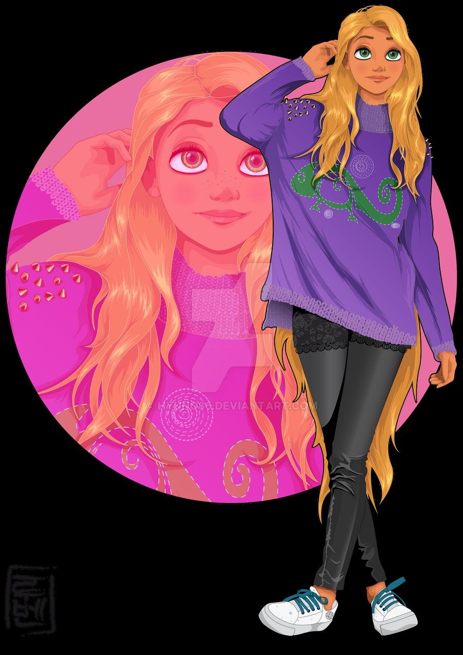 Disney University - Rapunzel