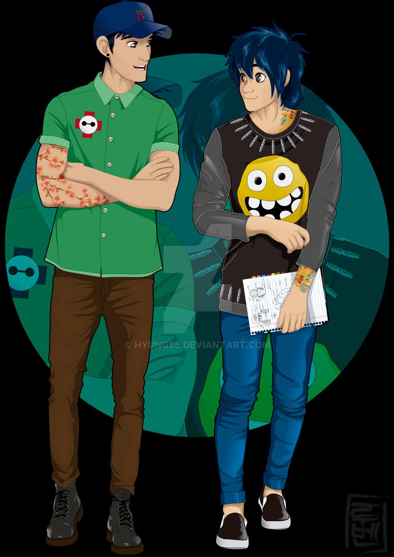 Disney University - Hiro and Tadashi