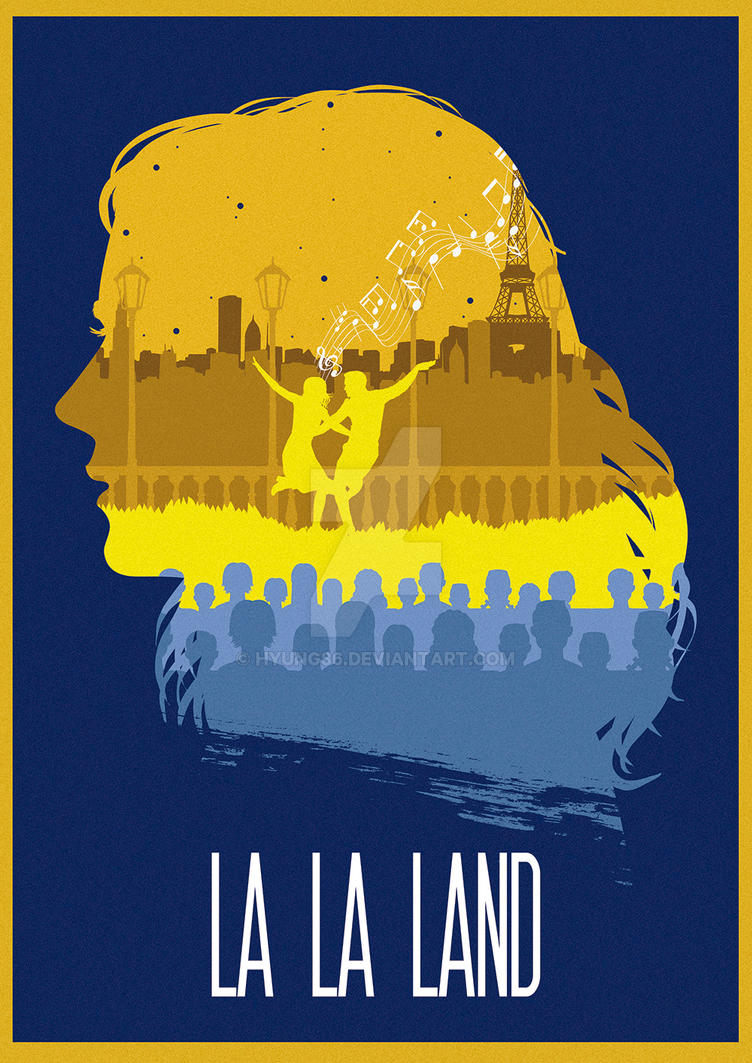 The Many Faces of Cinema: La La Land by Hyung86
