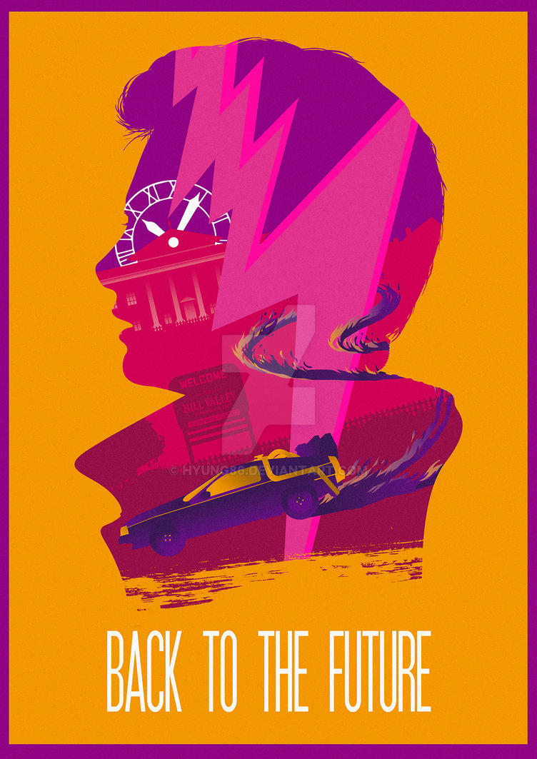 The Many Faces of Cinema: Back to the Future by Hyung86