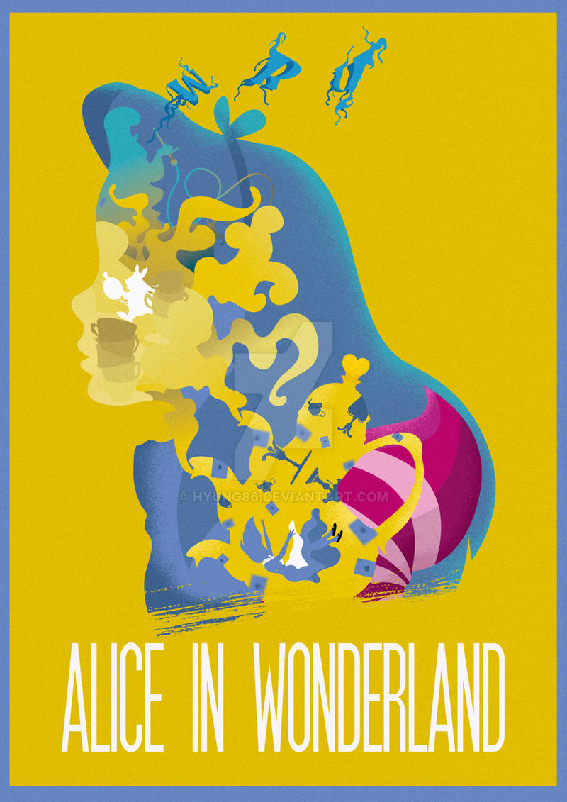 The Many Faces of Cinema: Alice in Wonderland by Hyung86