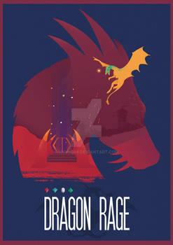 Commission - Dragon Rage