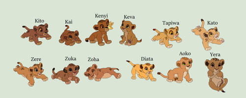 Lion king next gen by RoseLoverOfPastels