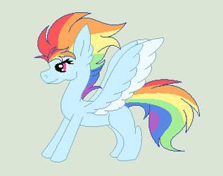 RosyVerse: Rainbow Dash by RoseLoverOfPastels