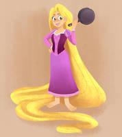 Rapunzel is back! by sirenami