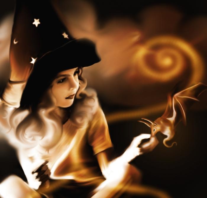 Itty Bitty Witch by Malla13