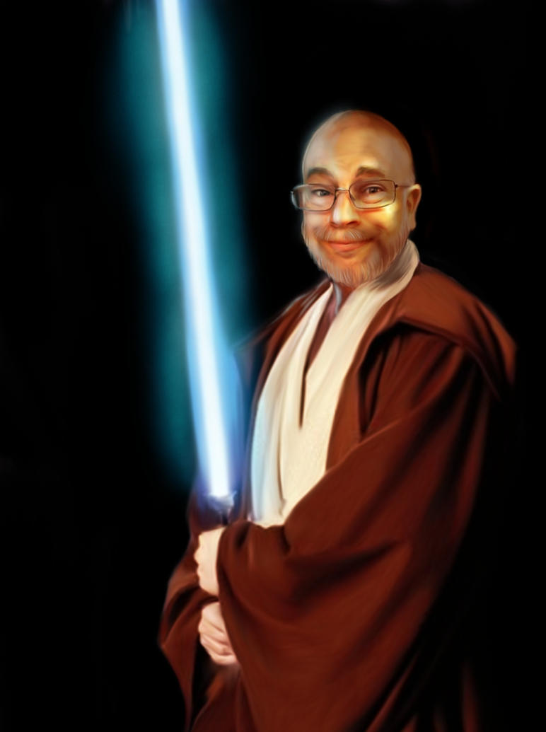 Jedi Dad by Malla13
