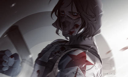 The Winter Soldier by ColnChen