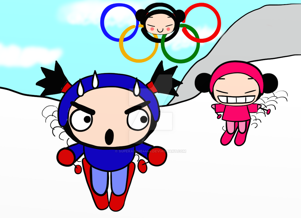 Pucca Olympics by SuperAnime4444