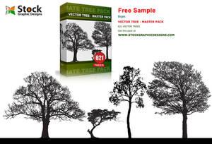 Tree Silhouette Brush