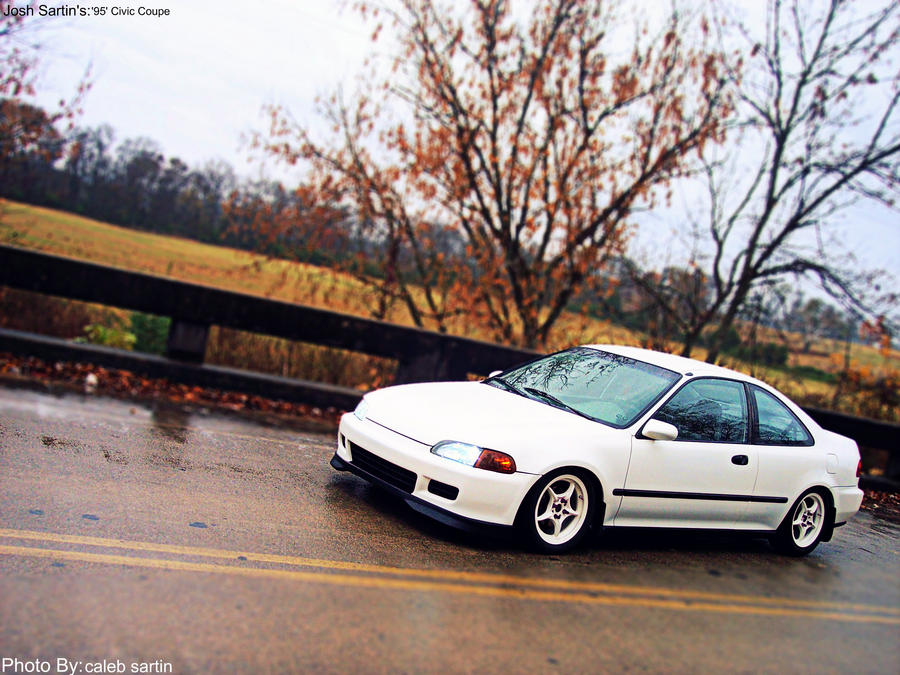 Josh Sartinu0027s 95u0027 Civic Coupe By ...