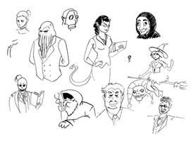 Quick doodle by ViktorMatiesen