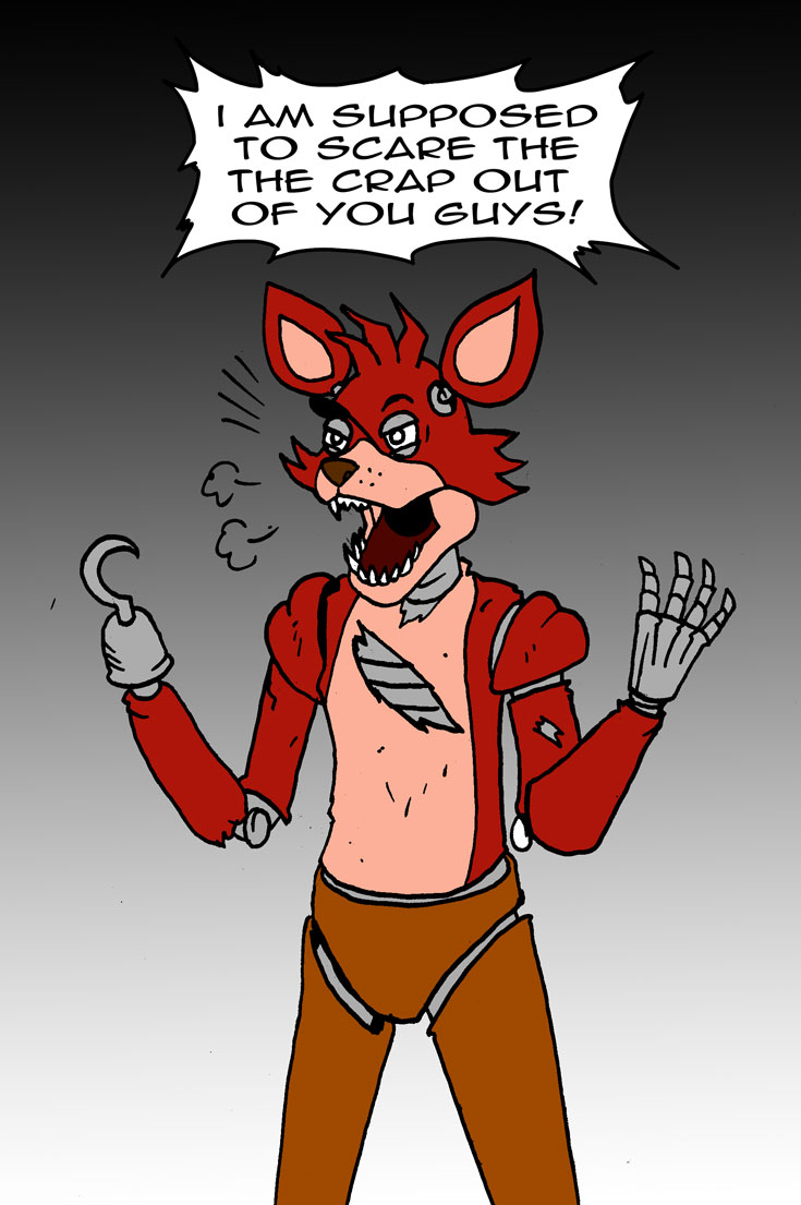 5 Nights At Foxys foxy from five nights at freddy'sviktormatiesen on