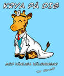 Dr Giraff  in the house