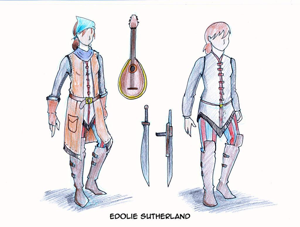 Edolie the Bard by ViktorMatiesen