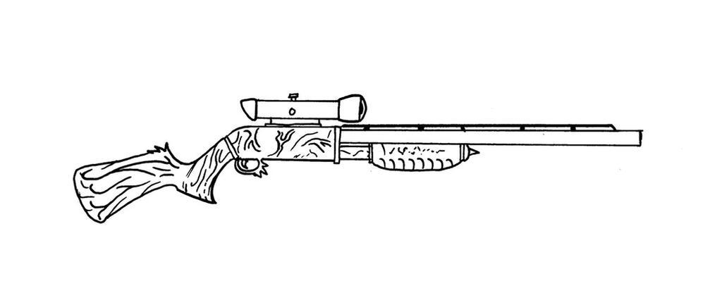 Demonic Shotgun by ViktorMatiesen