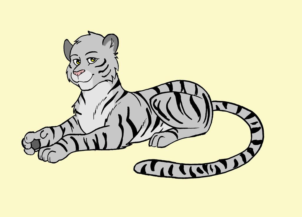 Chinyere the Tigress by ViktorMatiesen