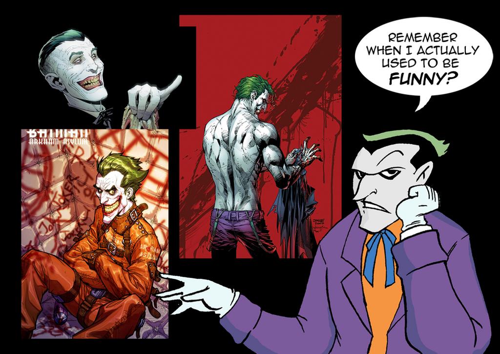 The Joker S Reaction By Viktormatiesen On Deviantart