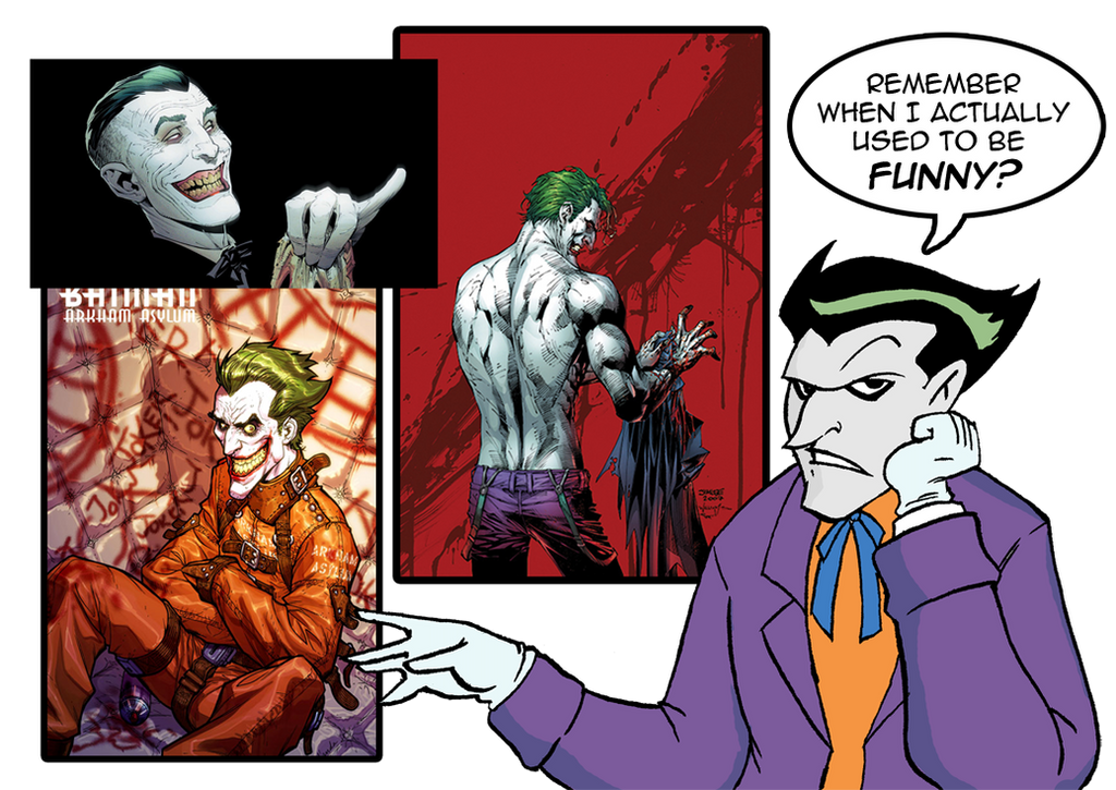 7a6bd23d0a2cce The Joker s Reaction by ViktorMatiesen on DeviantArt