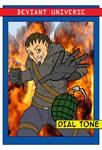 Deviant Universe Hero Trading Card Dialtone by ViktorMatiesen