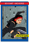 Deviant Universe Hero Trading Card Spitfire by ViktorMatiesen