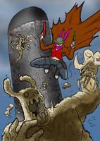 Jeanne vs Mr Dust by ViktorMatiesen