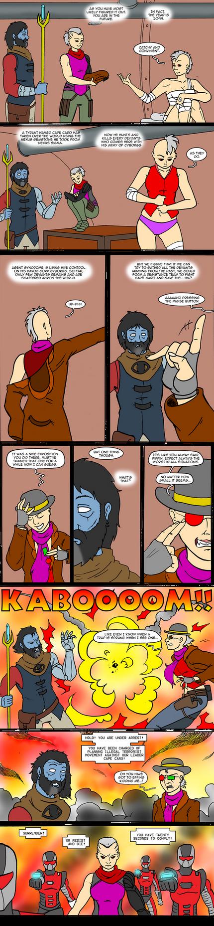 DU NEXUS SIGMA Chapter 3: DU 2099 Page 3/5 by ViktorMatiesen