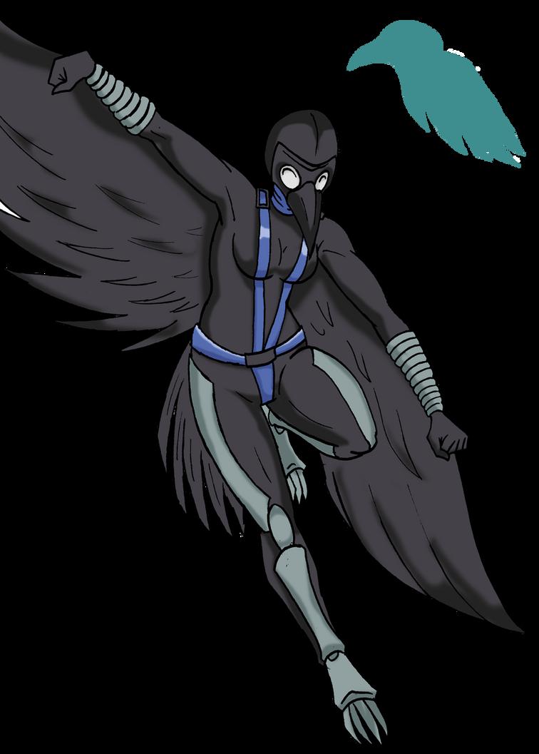 Raven Girl by ViktorMatiesen