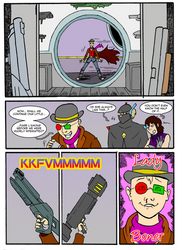 THUNDER FORCE UNLIMITED WORLD'S END CH 2 PAGE 2