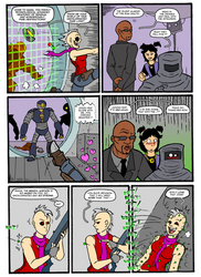 THUNDER FORCE UNLIMITED WORLD'S END CH 1 PAGE 5