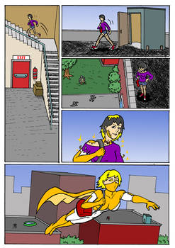 Goldstar: Of Wishes and Miracles Issue One Page 7