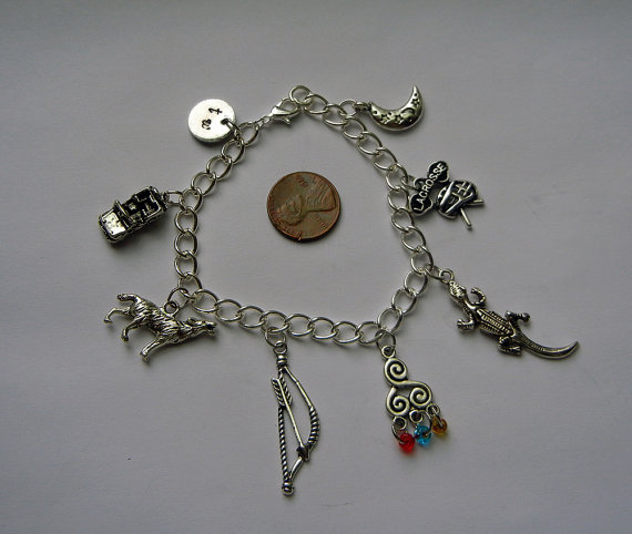Wolf Charm Bracelet: Redesigned Teen Wolf Charm Bracelet By Thnksfrthwilliam On