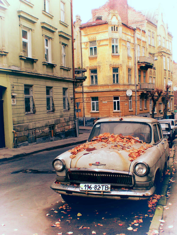 car in colour by Dyvyna